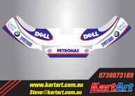 Williams replica Style Nose Cone  Kit