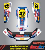 Aussie Pride Full graphics Kit