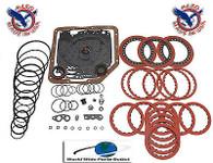 TH350 TH350C Transmission Rebuild kit Performance Less Steel Kit Stage 1