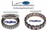 TH700-R4, 4L60E, 4L65E, 4L70E Sprag Kit, FWD & Lower roller BorgWarner Sprags