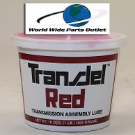 Transmission Assembly Lube Red TransJel