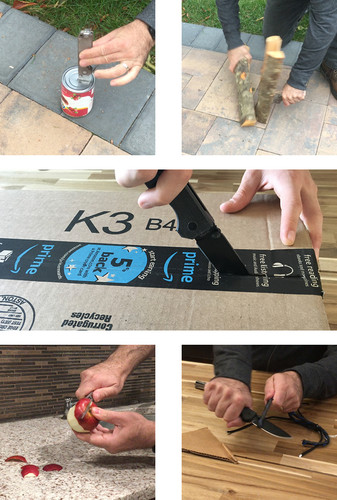 Ausus Knife & Kydex Sheath Combination