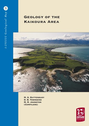 Geology of the Kaikoura area : scale 1:250,000