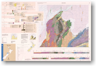 Geology of the Nelson area : scale 1:250,000 Digital Download