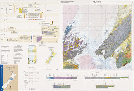 Geology of the Wellington area : scale 1:250,000 Digital Download