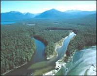 Oxbow, Waiau River, Fiordland
