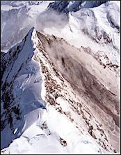 Mt Cook avalanche, 14th December 1991