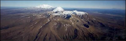 Central North Island volcanoes