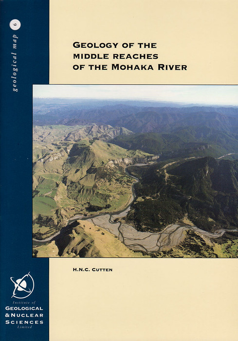 Geology of the middle reaches of the Mohaka River