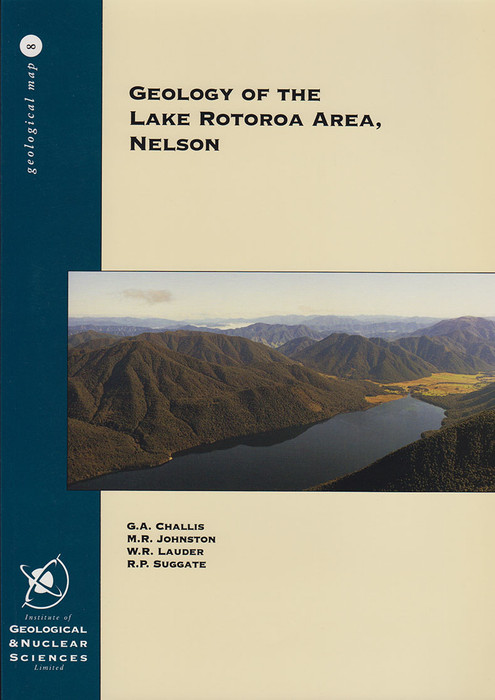 Geology of the Lake Rotoroa area, Nelson