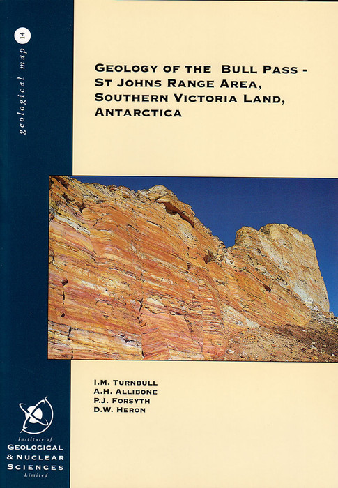 Geology of the Bull Pass-St Johns Range area, southern Victoria Land, Antarctica, scale 1:50 000
