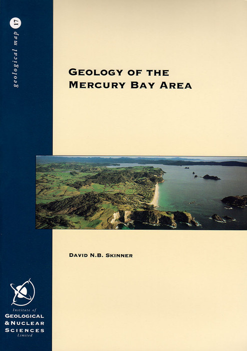 Geology of the Mercury Bay area : sheets T11BD & part U11, scale 1:50 000