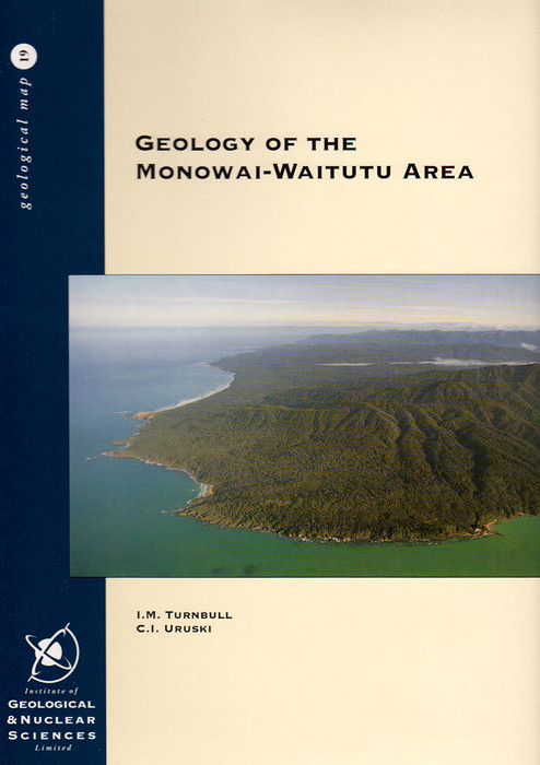 Geology of the Monowai-Waitutu area