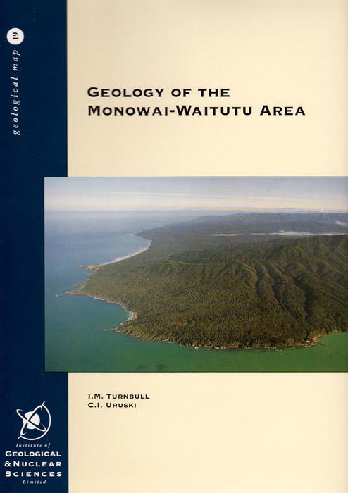 Geology of the Monowai-Waitutu area