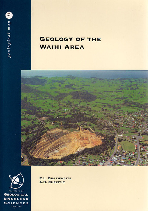Geology of the Waihi area : part sheets T13 and U13. Scale 1:50 000