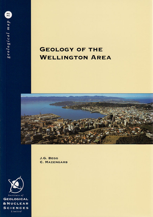 Geology of the Wellington area : sheets R27, R28, and part Q27, scale 1:50,000
