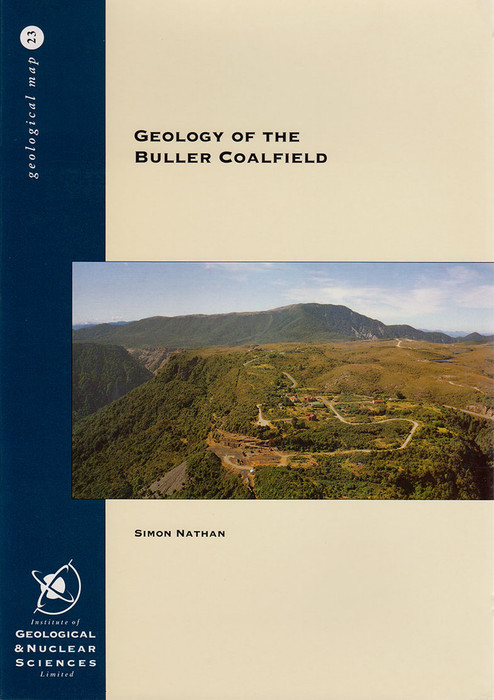 Geology of the Buller Coalfield. Scale 1:50 000