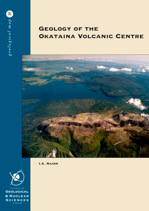 Geology of the Okataina Volcanic Centre : sheets part U15, part U16, part V15 & part V16, scale 1:50,000