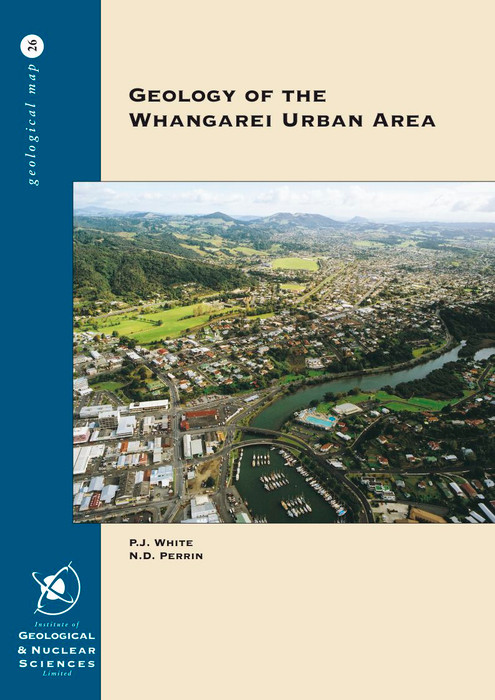 Geology of the Whangarei urban area : part sheets Q06 and Q07, scale 1:25,000