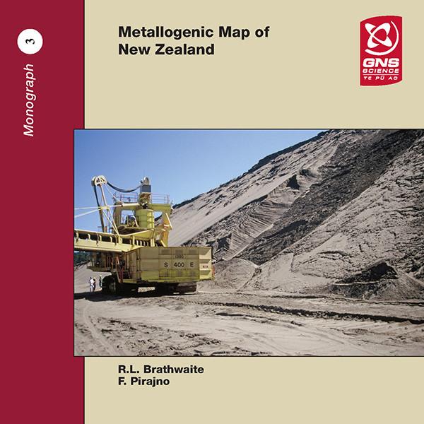 Metallogenic map of New Zealand (CD)