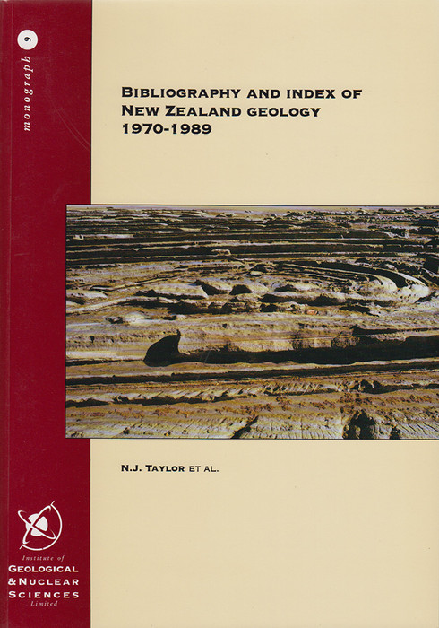 Bibliography and index of New Zealand geology 1970-1989