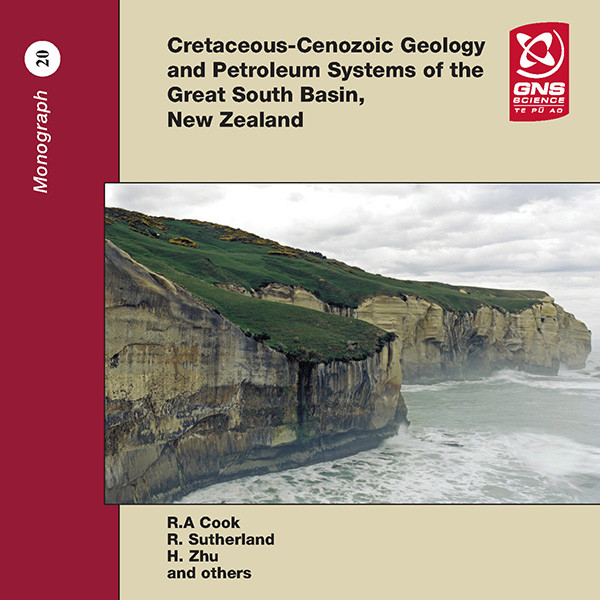 Cretaceous - Cenozoic geology and petroleum systems of the Great South Basin, New Zealand (CD)