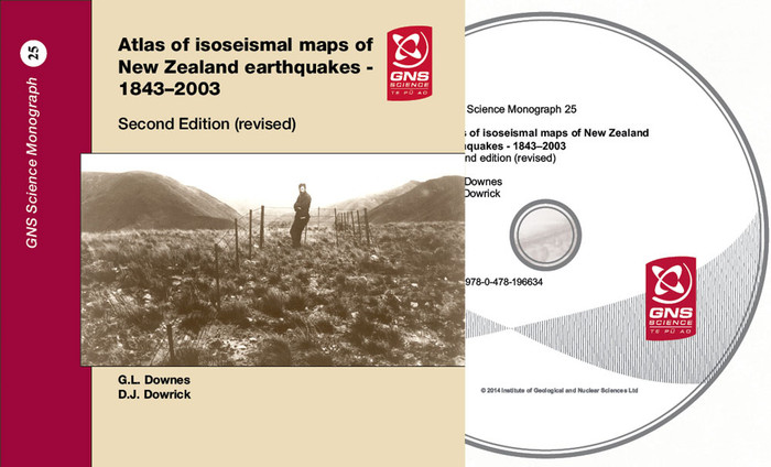 Atlas of isoseismal maps of New Zealand earthquakes : 1843-2003