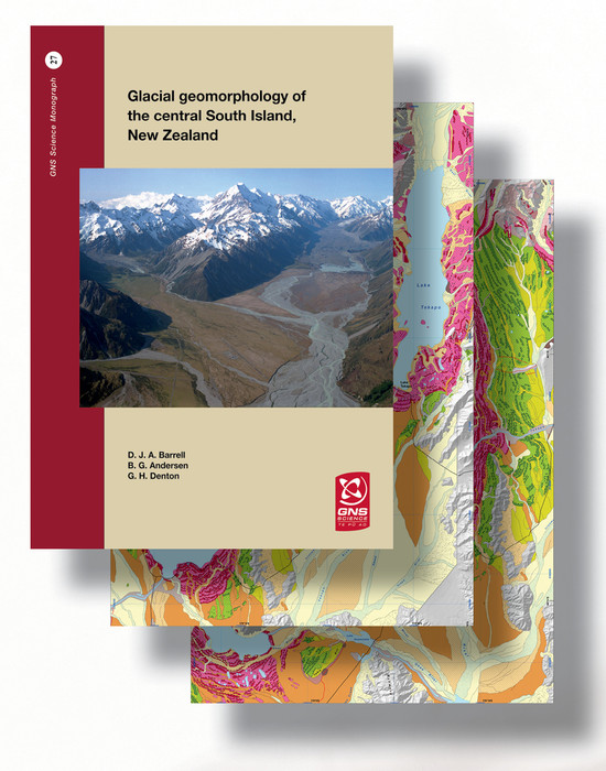 Glacial geomorphology of the central South Island, New Zealand