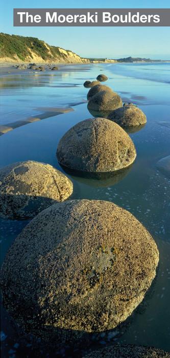 The Moeraki boulders : die Moeraki Steinkugeln