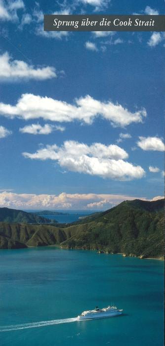 Sprung uber die Cook Strait