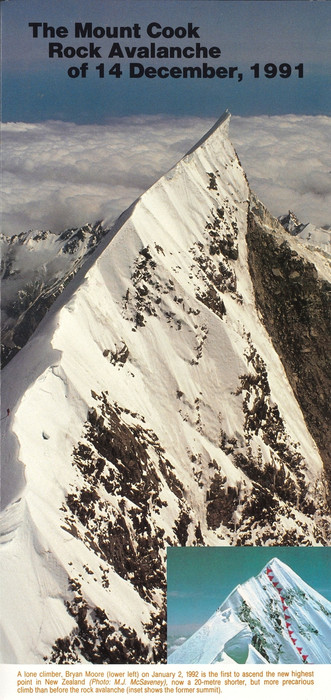 The Mount Cook rock avalanche of 14 December, 1991