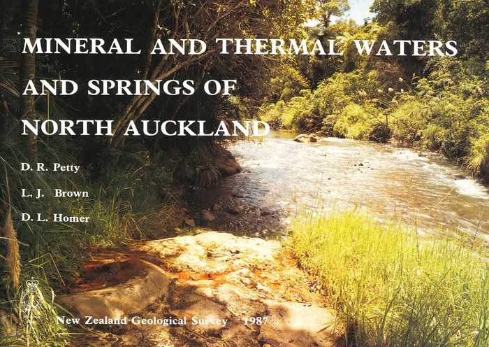 Mineral and thermal waters and springs of North Auckland