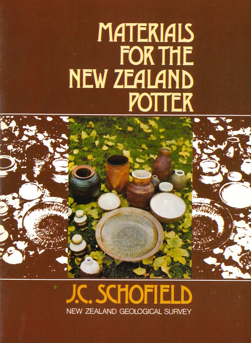 Materials for the New Zealand potter