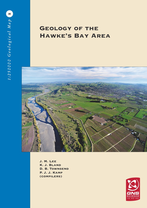 Geology of the Hawke's Bay area : scale 1:250,000