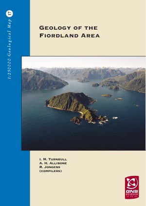 Geology of the Fiordland area : scale 1:250,000