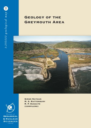 Geology of the Greymouth area : scale 1:250,000