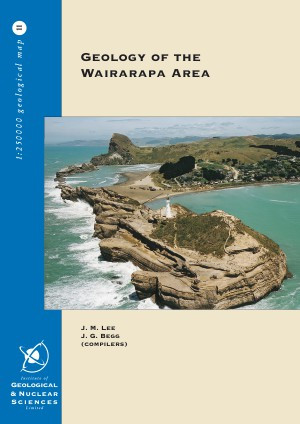 Geology of the Wairarapa area : scale 1:250,000
