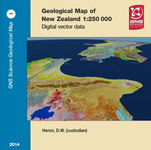 Geological map of New Zealand 1:250,000