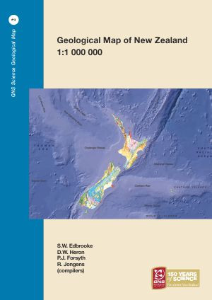 Geological map of New Zealand 1:1 000 000 (2 print maps)
