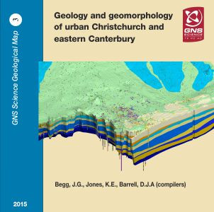 Geology and geomorphology of urban Christchurch and eastern Canterbury : digital vector data 2015