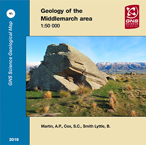 Geology of the Middlemarch area 1:50 000 : digital vector data 2016