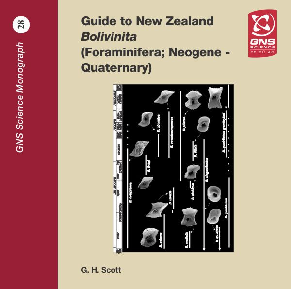 Guide to New Zealand Bolivinita (Foraminifera; Neogene - Quaternary) (CD)