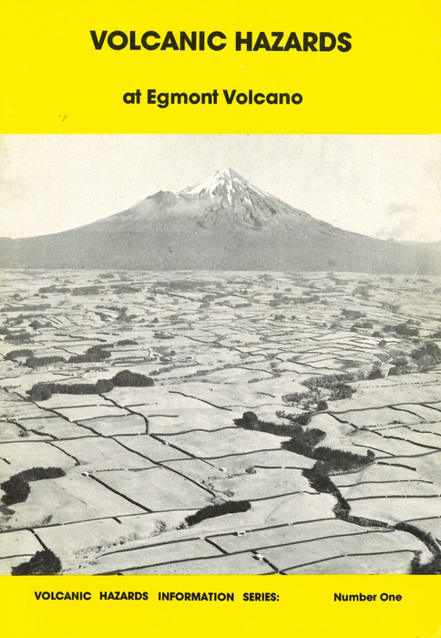 Volcanic hazards at Egmont volcano (1st ed)