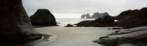 Wharariki Beach and Archway Islands, Tasman region