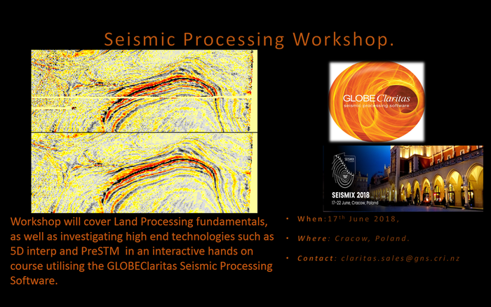 Seismic Processing Workshop (1 day)