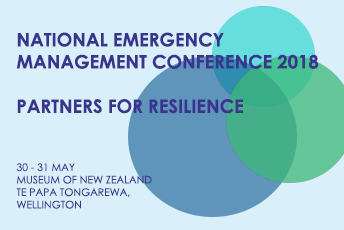 National Emergency Management Conference  - DINNER ONLY – Partners for Resilience May 2018