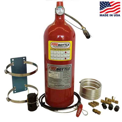 Fire Bottle AMRC-1000 Automatic or Manual Fire Suppression System - 10# (AMRC-1000)