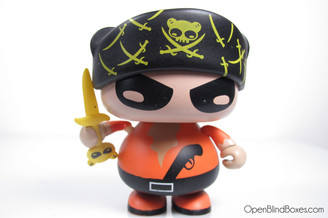 SAM The Pirate Orange Red Magic Front