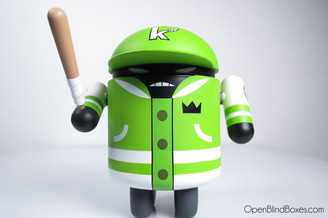 KaNO Flipmode Green Android Series 4 Front