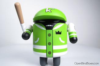 KaNO Flipmode Green Android Series 4 Front